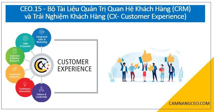 tài liệu quản trị quan hệ khách hàng và trải nghiệm khách hàng