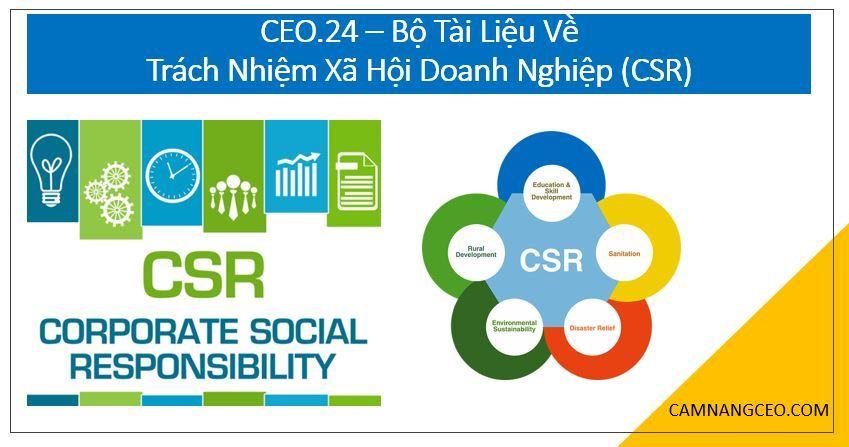 trách nhiệm xã hội doanh nghiệp