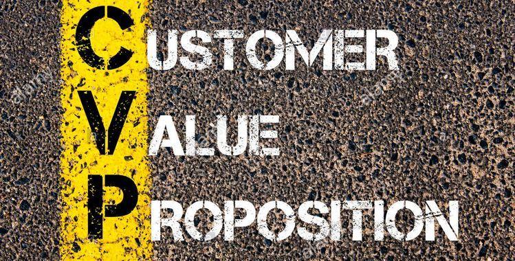 đề xuất giá trị cho khách hàng