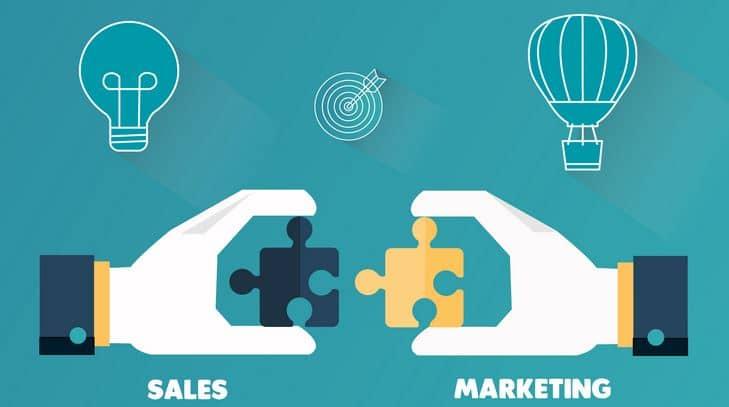 marketing và bán hàng