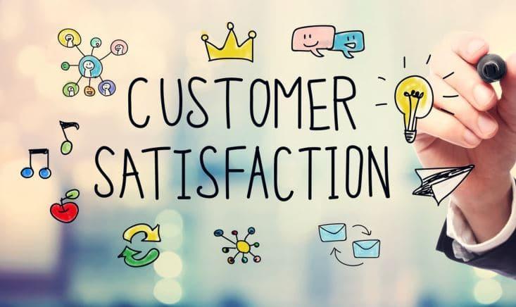 khách hàng hài lòng