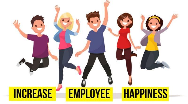 môi trường làm việc hạnh phúc