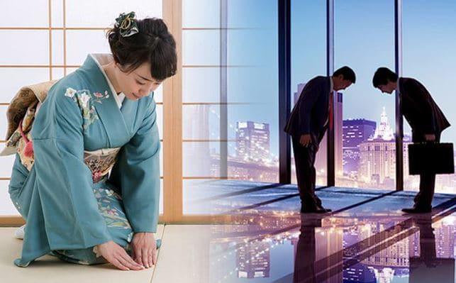 Văn hóa cúi đầu của người Nhật Bản
