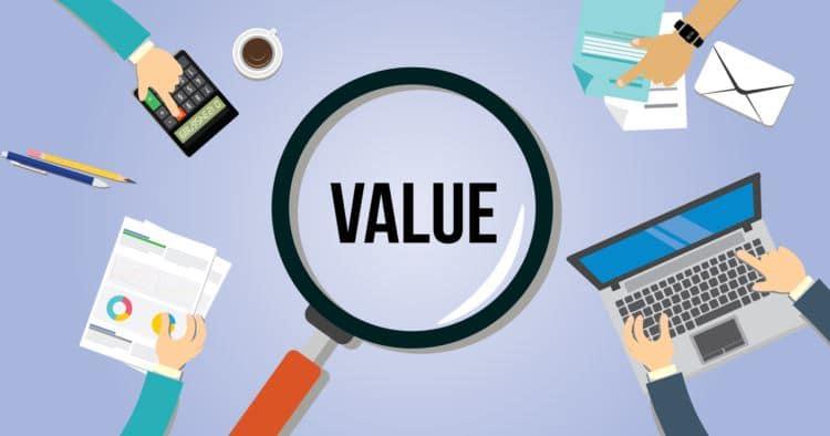 giá trị sản phẩm